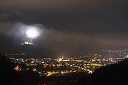 Pergine Valsugana, fuochi d'artificio dal castello, © foto Daniele Mosna
