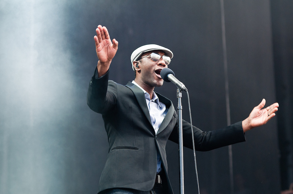 Aloe Blacc at Lollapalooza