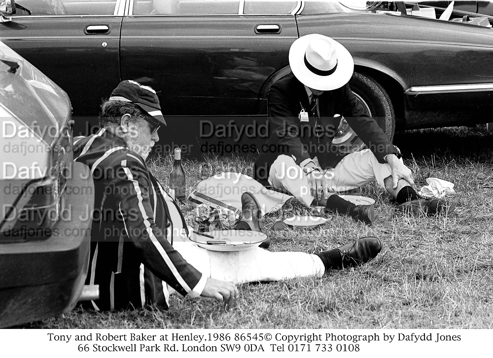 Tony and Robert Baker at Henley.1986 86545<br />