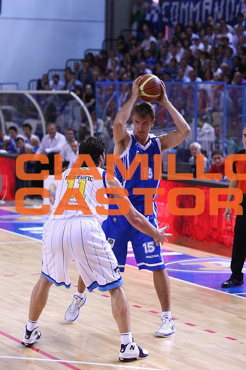 DESCRIZIONE : Cremona Lega A 2010-2011 Vanoli Braga Cremona Dinamo Sassari<br /> GIOCATORE : Vanja Plisnic<br /> SQUADRA : Dinamo Sassari<br /> EVENTO : Campionato Lega A 2010-2011<br /> GARA : Vanoli Braga Cremona Dinamo Sassari<br /> DATA : 15/05/2011<br /> CATEGORIA : Passaggio<br /> SPORT : Pallacanestro<br /> AUTORE : Agenzia Ciamillo-Castoria/F.Zovadelli<br /> GALLERIA : Lega Basket A 2010-2011<br /> FOTONOTIZIA : Cremona Campionato Italiano Lega A 2010-11 Vanoli Braga Cremona Dinamo Sassari<br /> PREDEFINITA :
