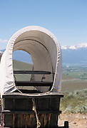 Covered Wagon, Wagon, wagon train, Baker City, Oregon