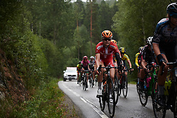 Amalie Dideriksen (DEN) at Ladies Tour of Norway 2018 Stage 2, a 127.7 km road race from Fredrikstad to Sarpsborg, Norway on August 18, 2018. Photo by Sean Robinson/velofocus.com