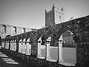 Jerpoint Abbey, Thomastown, Kilkenny, founded 1180,