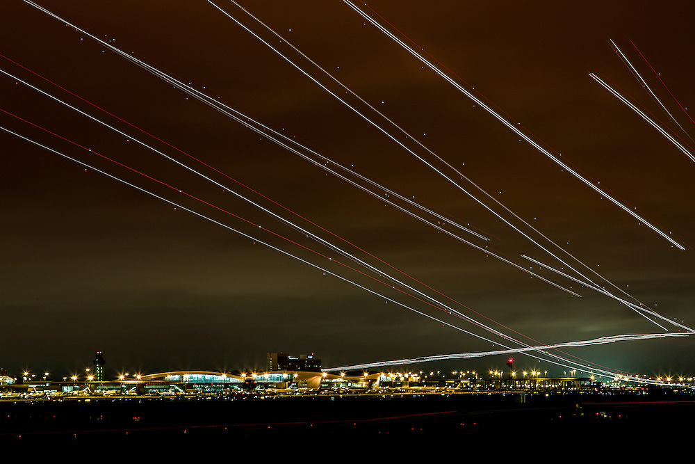 Grapevine Aiplane Trails, on October 6, 2012. © 2012 Tom Turner Photography