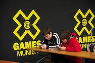 Fans at the 2013 X Games Munich in Munich, Germany. ©Brett Wilhelm/ESPN
