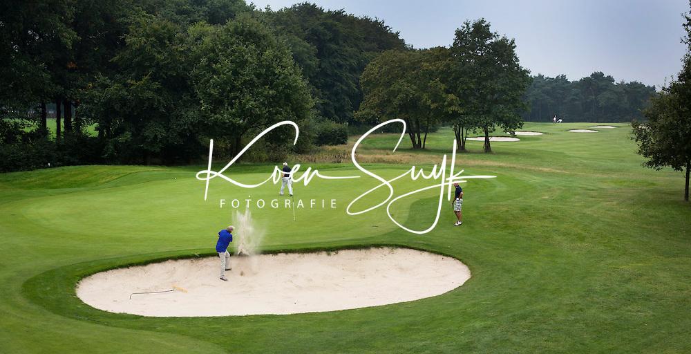OOSTERHOUT - Hole 6  met op de achtergrond hole 7. Oosterhoutse Golf Club COPYRIGHT KOEN SUYK