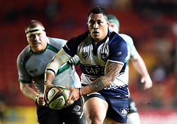 Bristol Rugby tighthead prop Anthony Perenise in action during the Greene King IPA Championship match between Bristol Rugby and Nottingham at Ashton Gate on March 6, 2015 in Bristol, England - Photo mandatory by-line: Paul Knight/JMP - Mobile: 07966 386802 - 06/03/2015 - SPORT - Rugby - Bristol - Ashton Gate Stadium - Bristol Rugby v Nottingham - Greene King IPA Championship