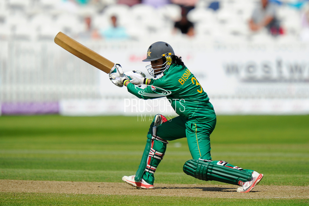Pakistan Women's Bismah Maroof during the Royal London ODI match between England Women Cricket and Pakistan Women Cricket at the Cooper Associates County Ground, Taunton, United Kingdom on 27 June 2016. Photo by Graham Hunt.
