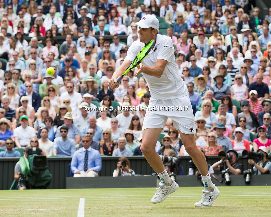 SAM QUERREY (USA)<br /> <br /> Tennis - Wimbledon 2017 - Grand Slam ITF / ATP / WTA -  AELTC - London -  - Great Britain  - 14 July 2017.