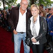 NLD/Amsterdam/20120919- Inloop Nick & Simon Live concert Carre, Daniel Dekker en partner Carla Verschoor