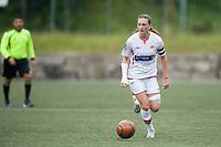 Fotball<br /> 16. August 2014<br /> 1. div. kvinner<br /> Stemmemyren<br /> Sandviken - Fortuna Ålesund<br /> Andrea Thun , Sandviken<br /> Foto Astrid M. Nordhaug