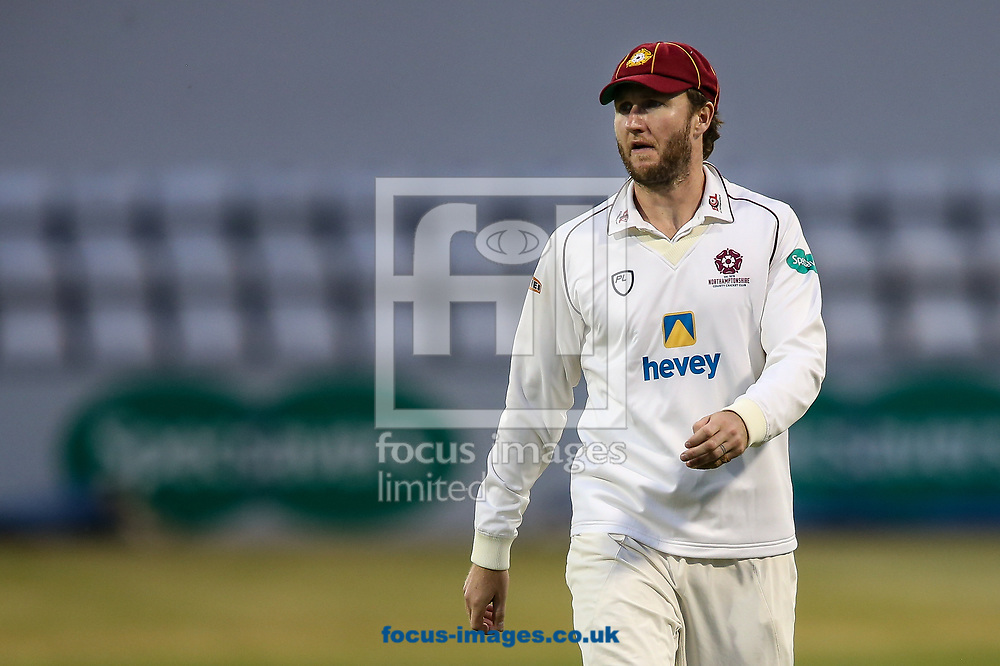 Alex Wakely of Northamptonshire CCC during the Specsavers County C'ship Div Two match at the County Ground, Northampton<br /> Picture by Andy Kearns/Focus Images Ltd 0781 864 4264<br /> 26/06/2017