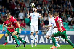 Andraz Sporar of Slovenia during football match between National teams of Slovenia and Bulgaria in Group stage of UEFA Nationals League, on September 6, 2018 in SRC Stozice, Ljubljana, Slovenia. Photo by Urban Urbanc / Sportida
