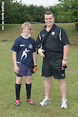 Bath and Bristol Rugby Camp at winchester Army Base 2006. Pics with Matt Stevens