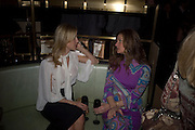Natalie Swanson and Stephania Kallos, Dom Perignon and Claudia Schiffer host a celebration of Dom Perignon Oenotheque 1995. The Landau, Portland Place. London W1. 26 February 2008.  *** Local Caption *** -DO NOT ARCHIVE-© Copyright Photograph by Dafydd Jones. 248 Clapham Rd. London SW9 0PZ. Tel 0207 820 0771. www.dafjones.com.
