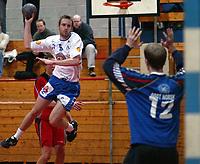 Håndball, Gildeserien herrer, Follo - Kristiansand 27-24. Preben Nilsen , Kr.sand