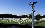 BEL, Belgium, US military cemetery Henrie-Chapelle near Liege and Aachen.....BEL, Belgien, der US-Soldatenfriedhof bei Henri-Chapelle zwischen Luettich und Aachen....... ..