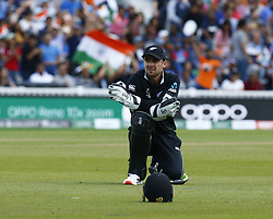 May 25, 2019 - London, England, United Kingdom - Tom Blundell of New Zealand.during ICC World Cup - Warm - Up between India and New Zealand at the Oval Stadium , London,  on 25 May 2019. (Credit Image: © Action Foto Sport/NurPhoto via ZUMA Press)