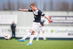 Falkirk's Craig Sibbald shots.<br /> Falkirk 1 v 1 Morton, Scottish Championship game today at The Falkirk Stadium.<br /> &copy; Michael Schofield.