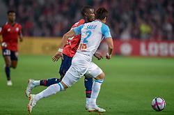 September 30, 2018 - Lille, France - Nicolas Pepe ( LOSC ) - Hiroki Sakai  (Credit Image: © Panoramic via ZUMA Press)