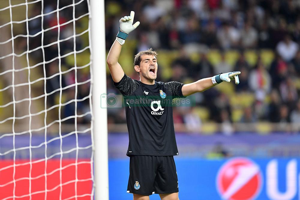 September 26, 2017 - Monaco, France - 01 Iker Casillas  (Credit Image: © Panoramic via ZUMA Press)