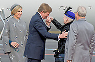 STATE VISIT TO DANMARK KING WILLEM ALEXANDER AND QUEEN MAXIMA DAY 1