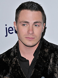 Colton Haynes arrives at Jessie Tyler Ferguson's 'Tie The Knot' 5 Year Anniversary celebration held at NeueHouse Hollywood in Los Angeles, CA on Thursday, October 12, 2017. (Photo By Sthanlee B. Mirador/Sipa USA)