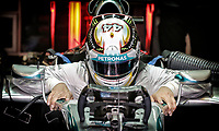 HAMILTON Lewis (Gbr) Mercedes Gp Mgp W05 Portrait  during the 2014 Formula One World Championship, Abu Dhabi Grand Prix from November 20th to 22nd 2014 in Yas Marina. Photo Francois Flamand / DPPI.