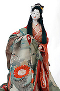 Japanese doll in traditional dress