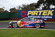 SHANE VAN GISBERGEN / ALEX PREMAT (Red Bull Racing Holden). 2016 Wilson Security Sandown 500. Virgin Australia Supercars Championship Round 10. Sandown International Raceway, Melbourne. Sunday 18 September 2016. Photo: Clay Cross / photosport.nz
