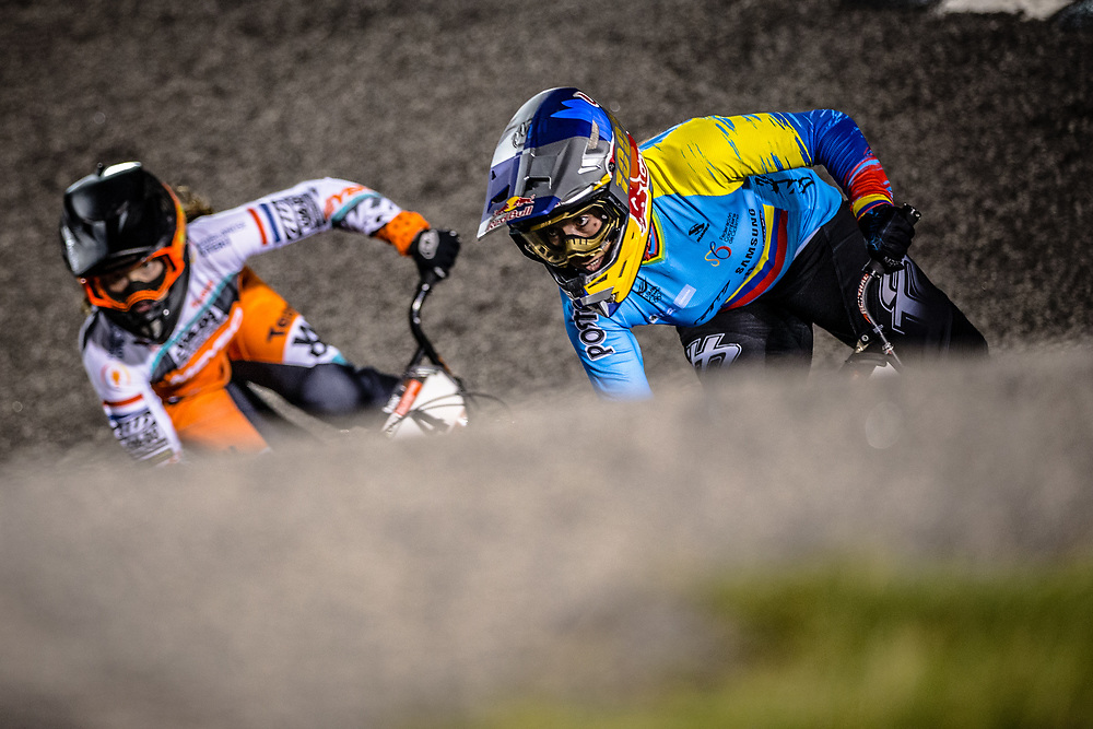 #100 (PAJON Mariana) COL GW Redbull 100% at Round 7 of the 2019 UCI BMX Supercross World Cup in Rock Hill, USA