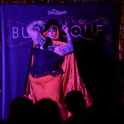 London,England,UK. 22th May 2017. Smashlyn Monroe *London, UK preforms at the London Burlesque Festival 2017 - Tattoo Revue at Moth Club, Hackney,London,UK. by See Li