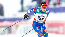 21.02.2016, Salpausselkae Stadion, Lahti, FIN, FIS Weltcup Langlauf, Lahti, Herren Skiathlon, im Bild Adrien Backscheider (FRA) // Adrien Backscheider of France competes during Mens Skiathlon FIS Cross Country World Cup, Lahti Ski Games at the Salpausselkae Stadium in Lahti, Finland on 2016/02/21. EXPA Pictures © 2016, PhotoCredit: EXPA/ JFK