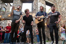 Band of the moment Kodaline are pictured performing in the Old Tannery, Dublin 8, at the fifth Lumia Live Session, presented by Nokia and La Blogotheque. Picture Andres Poveda