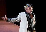 The Shadow King<br /> by<br /> Malthouse Theatre (part of Shakespeare 400) based on King Lear by William Shakespeare <br /> at the <br /> Barbican Theatre, London, Great Britain <br /> 22nd June 2016 <br /> Press photocall <br /> directed by Michael Kantor <br /> <br /> Tom E. Lewis as King Lear <br /> <br />  <br /> <br /> Photograph by Elliott Franks <br /> Image licensed to Elliott Franks Photography Services