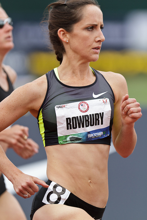 Olympic Trials Eugene 2012: women's 1500 meters, Shannon Rowbury