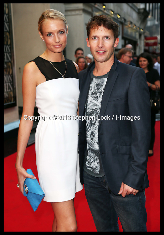 James Blunt arriving at the first BRIT's Icon Award in London, Monday, 2nd September 2013. Picture by Stephen Lock / i-Images
