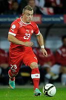 Bern, 12.10.2012, Fussball WM 2014 Quali, Schweiz - Norwegen, Xherdan Shaqiri (SUI). (Daniel Christen/EQ Images)