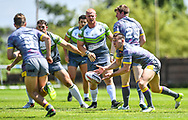 West Wales Raiders v Newcastle Thunder<br /> <br /> Photographer Craig Thomas/Replay Images<br /> <br /> Betfred League 1 - West Wales Raiders v Newcastle Thunder  - Saturday 03rd June 2018 - Stebonheath Park - Llanelli<br /> <br /> World Copyright &copy; 2017 Replay Images. All rights reserved. info@replayimages.co.uk - www.replayimages.co.uk