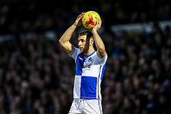 Lee Brown of Bristol Rovers in action - Rogan Thomson/JMP - 31/12/2016 - FOOTBALL - Memorial Stadium - Bristol, England - Bristol Rovers v AFC Wimbledon - Sky Bet League One.