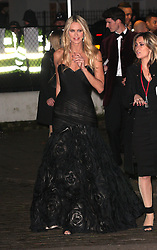 Elle Macpherson during Night of Heroes: The Sun Military Awards held at the Imperial War Museum, London, England, December 6, 2012. Photo by i-Images.