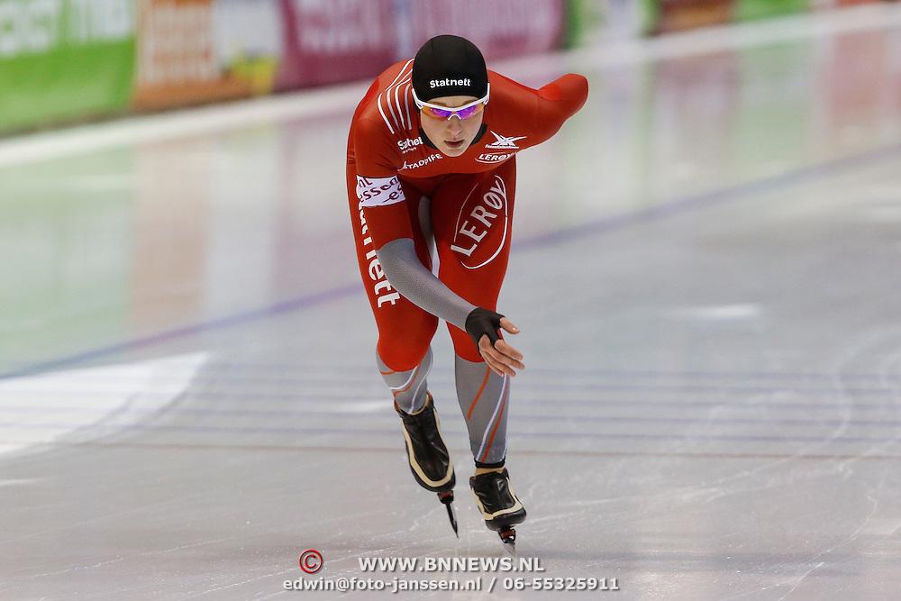 NLD/Heerenveen/20130112 - ISU Europees Kampioenschap Allround schaatsen 2013 dag 2, 3000 meter dames, Ida Njåtun