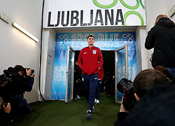 Michael Keane of England arrives at The SRC Stozice Stadium ahead of the World Cup Qualifier against Slovenia - Mandatory by-line: Robbie Stephenson/JMP - 10/10/2016 - FOOTBALL - SRC Stozice - Ljubljana, England - England Press Conference