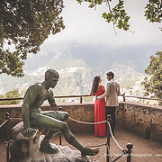 Wedding in Amalfi Coast at Villa Cimbrone Ravello