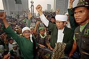 Jackarta and the fall of President Suharto.
