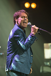 © Licensed to London News Pictures . 04/10/2015 . Manchester , UK . SIR CLIFF RICHARD performs at the Bridgewater Hall in Manchester . Photo credit: Joel Goodman/LNP