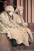 Marionnettes de Pierre Robitaille lors du 12e Festival de Casteliers, marionnettes pour adultes et enfants - 2017 à  Theatre Outremont / Montreal / Canada / 2017-03-10, Photo © Marc Gibert / adecom.ca