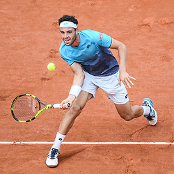 Marco Cecchinato (Italia) during Day 10 for the French Open 2018 on June 5, 2018 in Paris, France. (Photo by Anthony Dibon/Icon Sport)