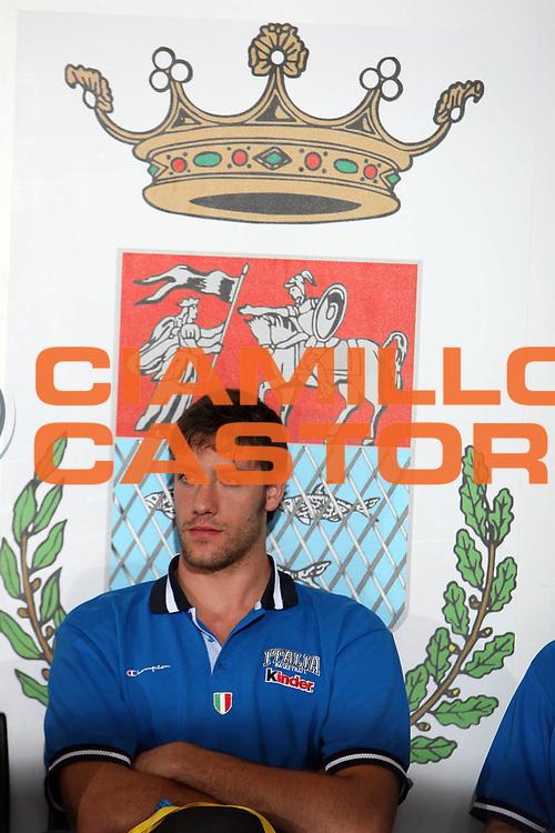 DESCRIZIONE : Rieti Torneo Internazionale Lazio 2006<br /> GIOCATORE : Gigli<br /> SQUADRA : Italia<br /> EVENTO : Rieti Torneo Internazionale Lazio 2006<br /> GARA : Italia Venezuela<br /> DATA : 20/06/2006 <br /> CATEGORIA : <br /> SPORT : Pallacanestro <br /> AUTORE : Agenzia Ciamillo-Castoria/E.Castoria