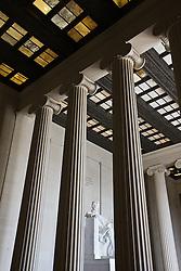 Washington D.C., USA.Statue of Abraham Lincoln, Lincoln Memorial, Washington D.C., USA.